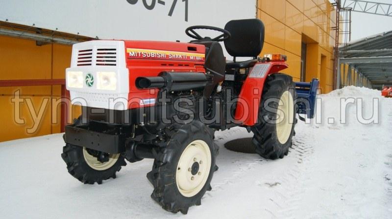 Mitsubishi Tractor 180 : Фото и видео минитрактора mitsubishi mt d