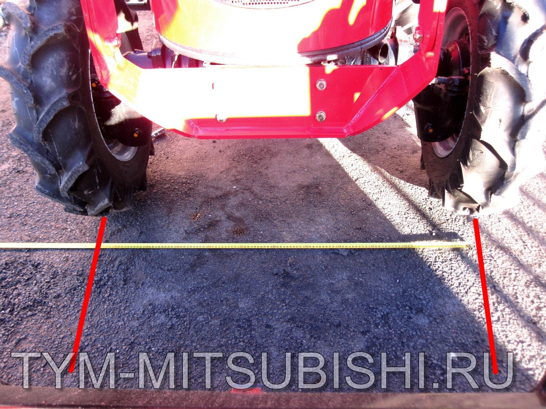 Изменение колеи трактора Т-25
